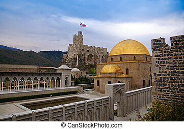 Rabat fortress - View of the famous fortress Rabat in...