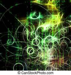 機器, 二進制, 相象, 人類, 容貌