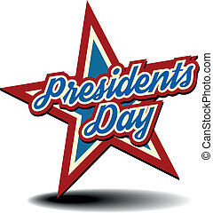 Presidents Day Star