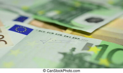 European banknotes - Banknotes of 100, 50 and 20 Euros