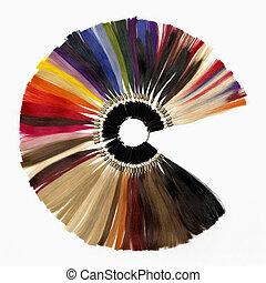 extensões, cores