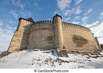 Bastion, the old public domain destroyed fortress on the...