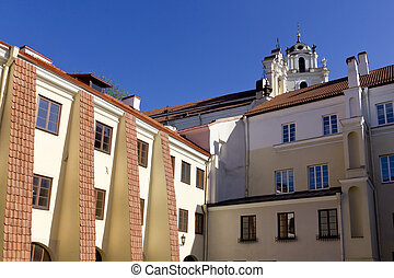 Red tile roofs part 3 - Red tile public domain roofs of the...