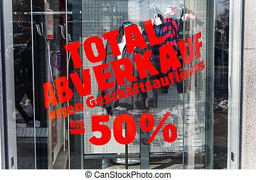 Total, vendas, -, negócio, resolução