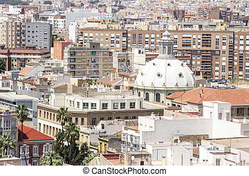 Panorama of Cartagena, Spain - Panorama of Cartagena, Murcia...
