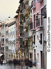Pamplona Architecture - nice buildings near to city center,...