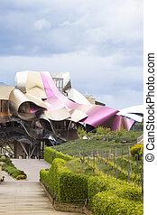 Hotel Marqués de Risca by Frank Gehry - Elciego, Spain - May...