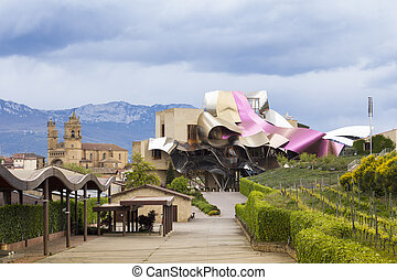 Hotel Marqués de Risca by Frank Gehry - Elciego, Spain - May...