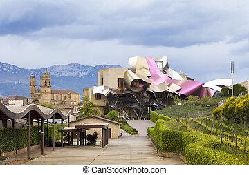Hotel Marqueacute;s de Risca by Frank Gehry - Elciego, Spain...