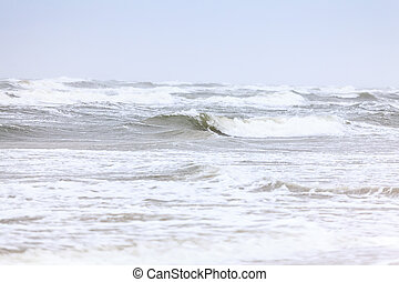 Stormy sea - Waves on a stormy sea