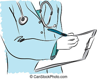 medical service nurse doctor illustration 3