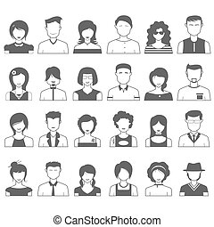 People Icon - illustration of simple and clean people icon