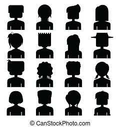 People Icon Silhouette