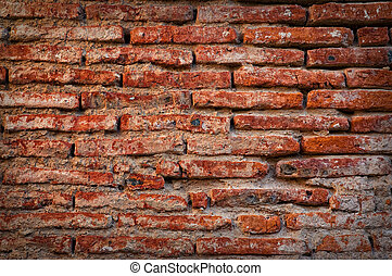 antique brick wall - Backgraund of an old wall, close up