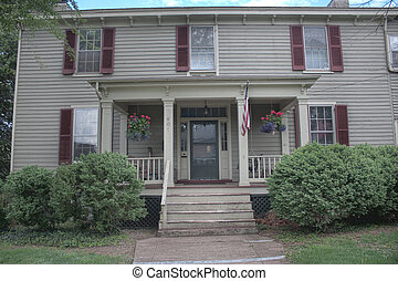 Pretty old house, Culpeper Virginia - Pretty antique house...