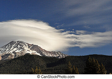 Lenticular Magic - Lenticularcs hover over mountains and do...