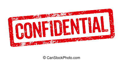Red Stamp - Confidential