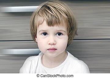Adorable little baby girl - Adorable beauty little baby girl...