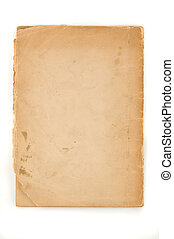 Vintage paper with clipping path.