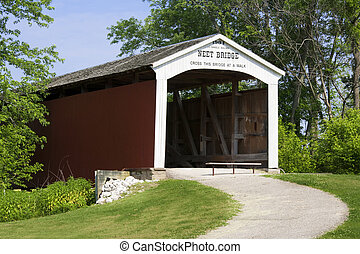 Covered Bridge - The Neet Covered Bridge crosses Little...