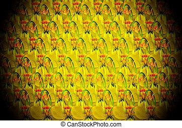 Cassia fistula background with white light