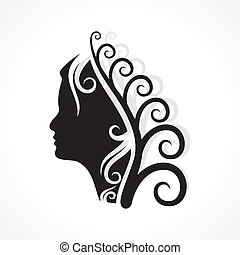 Beauty and fashion icon stock vector