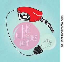 Fuel fill up and light bulb
