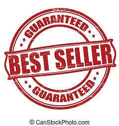 Best seller - Stamp with text best seller inside, vector...