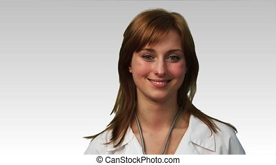 Potrait of a smiling Doctor in HD - Portrait of a smiling...