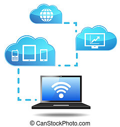 Cloud Computing Concept - Cloud computing and Internet...
