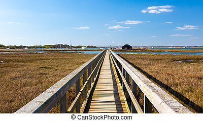 Newtown Harbour National Nature Reserve Isle Of Wight...