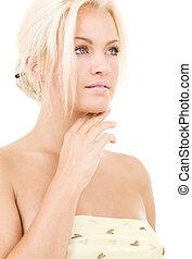 lovely blonde