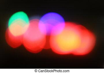 color light spots