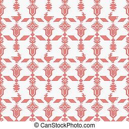 Cross Stitch Seamless Pattern