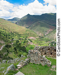 Sacred valley of Incas in Peru