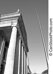 Dublin GPO 04 - GPO building on O\'Connell Street, Dublin,...
