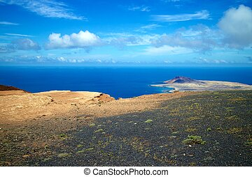 Lanzarote Mirador del Rio View 001 - Amazing view on the...