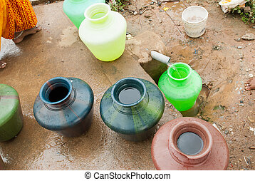 Water problems - Water is precious and in short supply in...