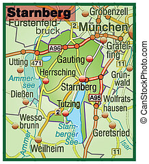 Map of starnberg