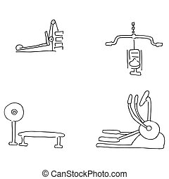 Exercise Equipment - An image of exercise equipment.