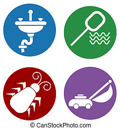 Home Maintenance Icons