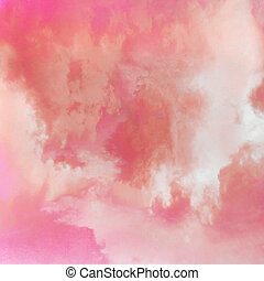 Pink sky background texture