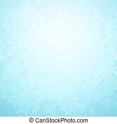 Abstract light blue paper background with bright center