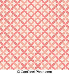 Pretty pastel vector seamless pattern (tiling, with swatch)