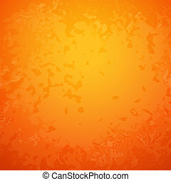 Abstract orange paper background with bright center