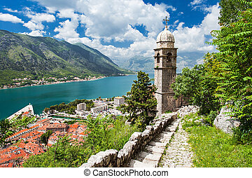Old church, Kotor - Old church inside Stari Grad, Kotor,...