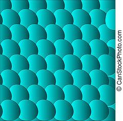 blue circle background - eps 10
