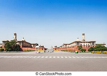 Rashtrapati Bhavan - NEW DELHI, INDIA - SEPTEMBER 18:...