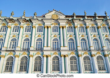 Winter Palace, St.Petersburg. - The Winter Palace in...