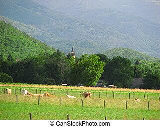 Comminges Landscape - South of France Comminges, Haute...